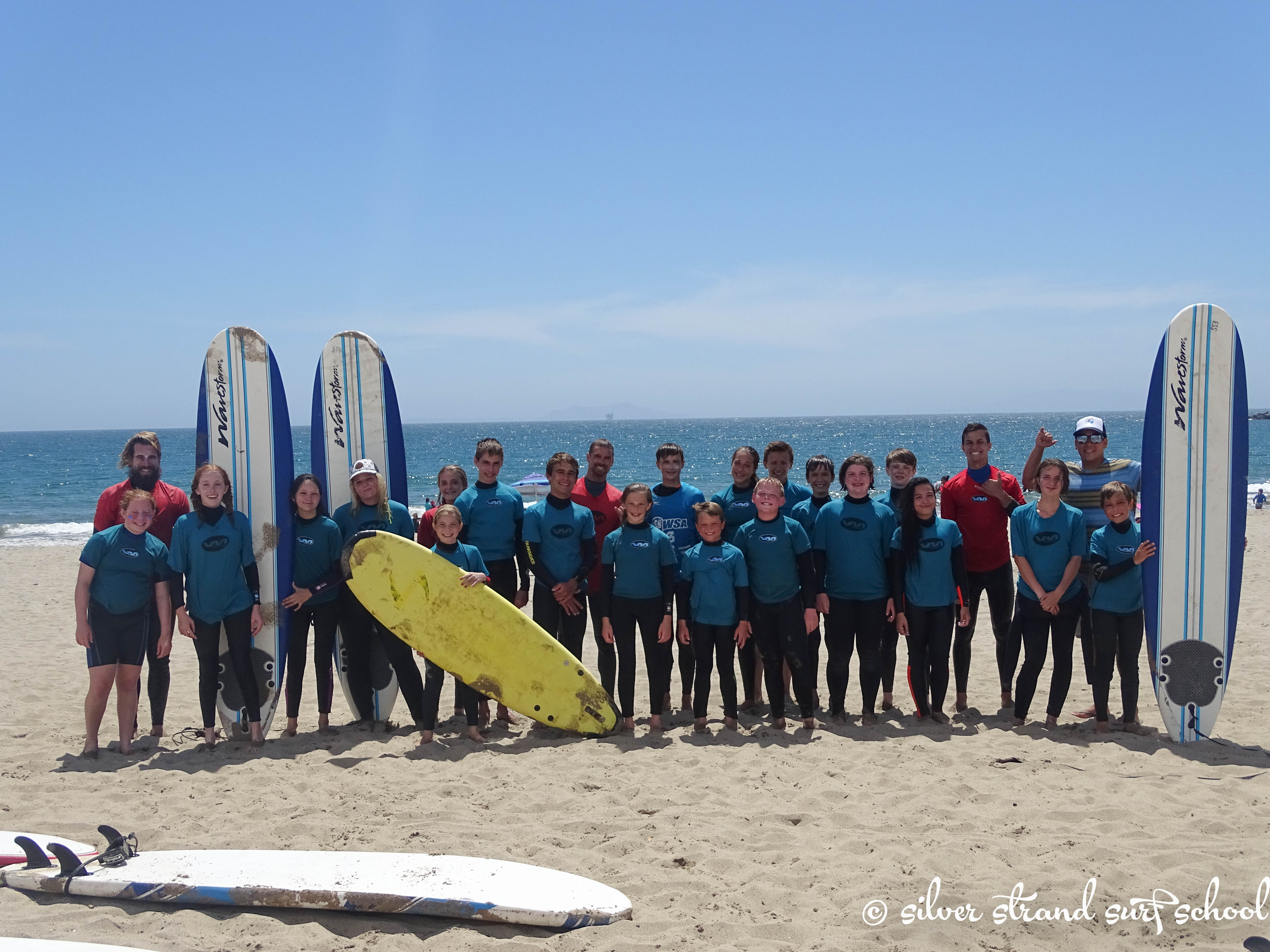 Welcome to Silver Strand Surf School!